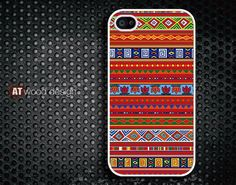 IPhone 5 case IPhone 4 case Hard case Rubber case by Atwoodting, $7.99