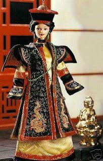 Brincando de bonecas: Imperatriz chinesa