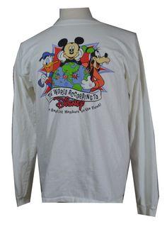 #CompanyD Cast #Exclusive #WaltDisneyWorld #LongSleeve T #Shirt Top #Mickey #Goofy for #auction #cheap in my ebay store