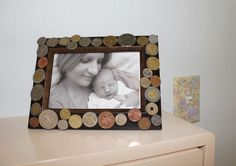 use coins from all over the world. Perfect for a travel inspired nursery!