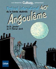 40ème Festival de la BD à Angoulême.  Youpi !!!