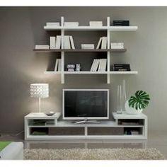 Meuble Tv Design Vittoria - Blanc