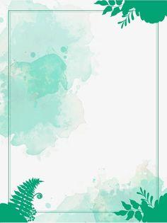 Flower Background Wallpaper, Pastel Background, Cute Wallpaper Backgrounds, Flower Backgrounds, Photo Backgrounds, Cute Wallpapers, Watercolor Border, Green Watercolor, Floral Border