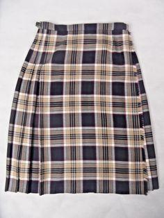 e2dcd77c18003 Lochavon By Kinloch Anderson Scotland Kilt In Navy Size 20 Pure New Wool  Plus  fashion