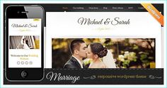 20 Professional WordPress Wedding Themes for Wedding Photographers and Event Planners