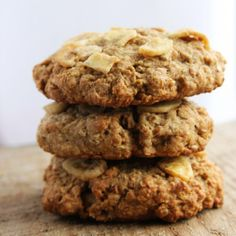 Small Batch Banana Breakfast Cookies - perfect on the go snack