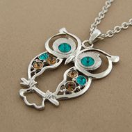 Why are owls so awesome?!  The necklaces on this site are really well priced, btw.