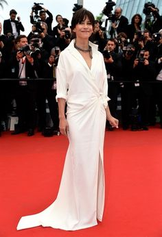 Festival di Cannes 2015 Sophie Marceau in Alexandre Vauthier Couture