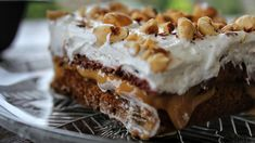 Greek Pastries, Quick Cake, Trifle, Greek Recipes, Sweet Tooth, Sweet Treats, Food And Drink, Cooking Recipes, Yummy Food