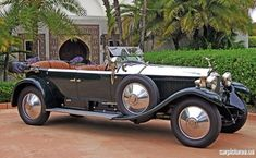 1928 Rolls-Royce Phantom I Torpedo Tourer by Hooper & Co. Ltd.