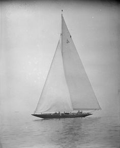 "lazyjacks: "" Yacht - Marblehead [J Class Endeavour II] Leslie Jones, 1937 Boston Public Library, Print Department, Leslie Jones Collection Accession # 08_06_012923 (CC BY-NC-ND) "" yes the baby"