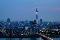 Sky Tree, Tokyo, Japan