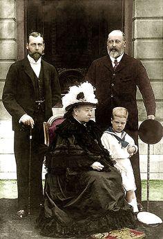Four generations QV colour - Victoria (reine) — Wikipédia