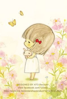 Butterfly and bows Cute Illustration, Watercolor Illustration, Cute Images, Cute Pictures, Image Deco, Dibujos Cute, Creative Pictures, Anime Art Girl, Cartoon Art