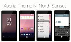 Download Xperia Theme N - Cross Over Xperia + Android N Theme