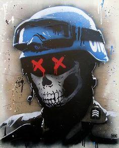 Foto: • ARTIST . GOIN •  ◦ Warkeeper ◦#streetart