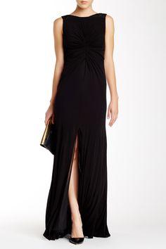 ML Monique Lhuillier   Back V-Neck Beaded Gown   Nordstrom Rack  Sponsored by Nordstrom Rack. Sponsored by Nordstrom Rack.