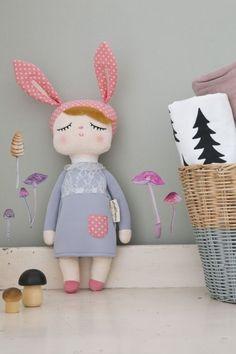 Králičí panenka Lille Kanin Grey   Nordic Day