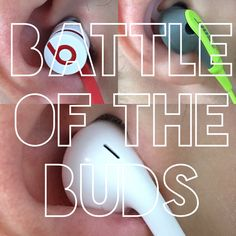 We reviewed the most popular ear buds so you don't have to. #bose #apple #beats