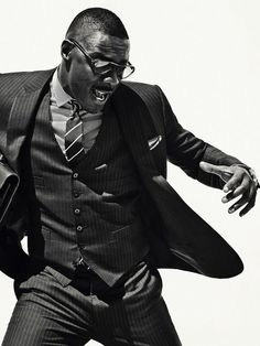 I would be ok seeing this man neked. . Idris Elba + Photographer Sebastian Kim