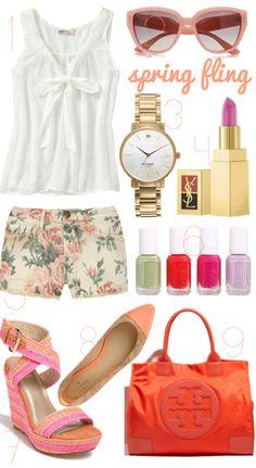 Spring Fling- Spring Fashion