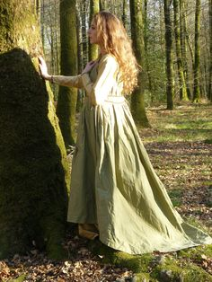 Fit for future moms Medieval dress inspired by an italian costume of by FeeFilochee