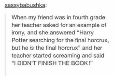 Dying --- I feel so sorry for that teacher though...