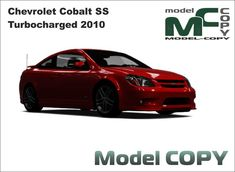 Chevrolet Cobalt SS Turbocharged 2010 - Modello 3D - Model COPY
