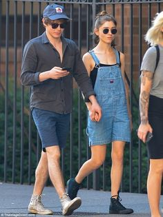 Not strangers! Stranger Things' Natalia Dyer and Charlie Heaton held hands in NYC on Tuesd...