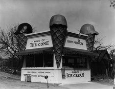 The Cone in Eagle Rock - 1920