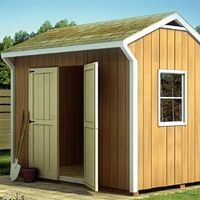 A storage shed is a light structure (generally made of wood) in a back garden used for storage of tools, vehicles, or useful items and is very often used to pursue hobbies like gardening and light engineering. Storage sheds are availa