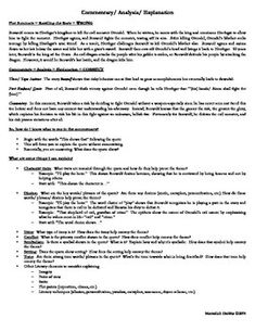 ATTN HIGH SCHOOL ENGLISH TEACHERS! The most difficult part of the argumentative essay is the commentary (a.k.a. explanation or analysis). This is the part of the essay that requires the critical thinking, and students often struggle with what to say, so this handout guides students through how to write deeper commentary in their essays. FREE HANDOUT! Don't forget to leave feedback!