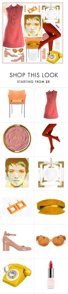 """Necktie"" by natalyapril1976 on Polyvore featuring Mode, Kartell, Milani, Jonathan Adler, Mr. John, Gianvito Rossi, Corinne McCormack und Guerlain"