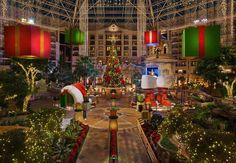 Lone Star Atrium Christmas Tree & Décor---Gaylord Texan Resort in Grapevine, TX