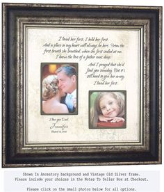 Personalized Picture Frame with I Loved Her by PhotoFrameOriginals