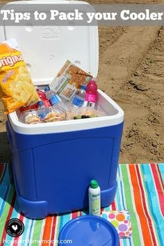Do you know how to pack your cooler? What should you add? Is the ice on top or bottom? Here are some tips to pack your cooler. You might not have thought of all of them. Items available at Walmart.