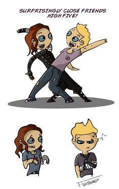 Ooow, poor Clint! o.O