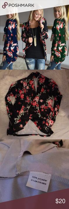 💕NWOT💕 Cardigan Perfect Cozy Blazer/Cardigan  Fitted Sleeves.  Great for work or weekend wear!   100% Polyester   Smoke Free Pet Free ✨Make me an offer✨ Tops
