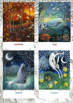 Earth Angels Art. Art and Illustrations by Amanda Clark: Celtic Festivals