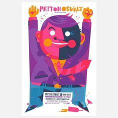 Fab.com | Patton Oswalt 12.5x19