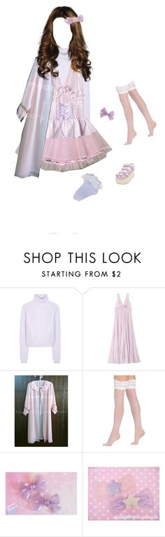 """""""Untitled #148"""" by tsukuurinn ❤ liked on Polyvore featuring Carven, Rebecca Taylor and Berkshire"""