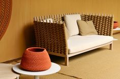 the amazing outdoor collection by Paola Lenti blew Lisette away!