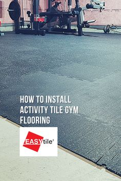 In this video, you will see how @imsamanthagomez using the EASY|tile™ Activity Tile system to install a rubber floor for her home gym! Easy Tile, Rubber Flooring, Ads, Activities, Home, Ad Home, Homes, Haus, Houses