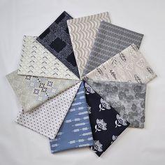 Winter Blues Fabric Bundle  Art Gallery by SouthernStitchFabric