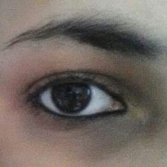 Arabic eyes make-up