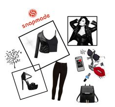"""Snapmade :D"" by eldina12 ❤ liked on Polyvore featuring Emily Carter, Lee, KG Kurt Geiger, Lime Crime and Godinger"