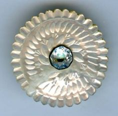 18th century mother of pearl button
