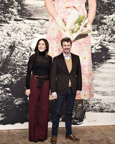Prince Frederik and Princess Mary visited Museum Jorn