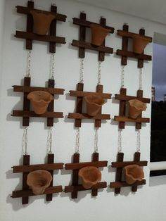 Paper Flowers Craft, Flower Crafts, Wood Planters, Woodworking Joints, Wooden Wall Art, Wall Design, Wind Chimes, Art For Kids, Shelves