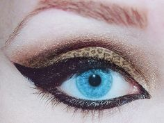 gives a whole new meaning to cat eye!